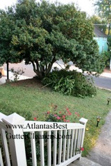 Norcross's Best Gutter Cleaners does tree pruning of limbs coming in range of the gutters.